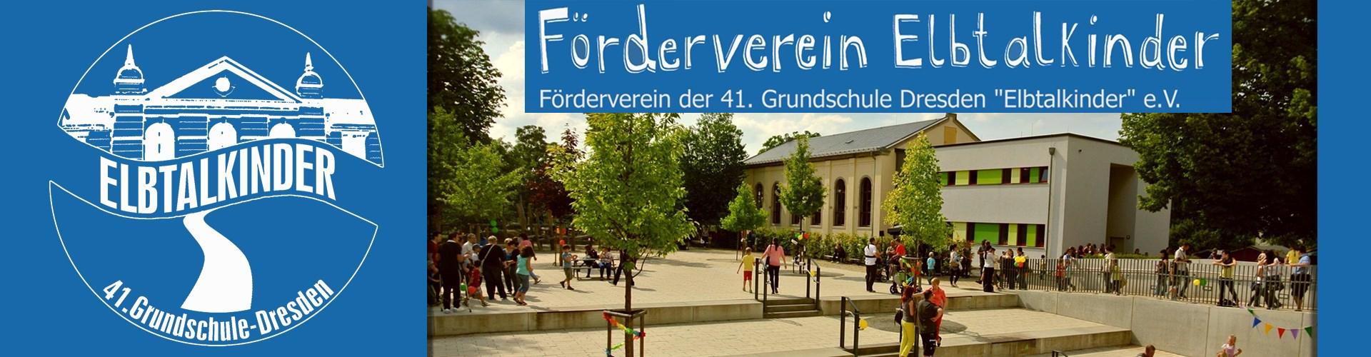 Förderverein Elbtalkinder e.V.-Banner